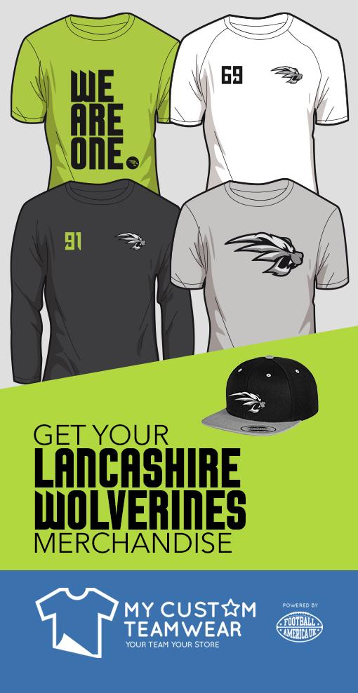 Get your Lancashire Wolverines merchandise