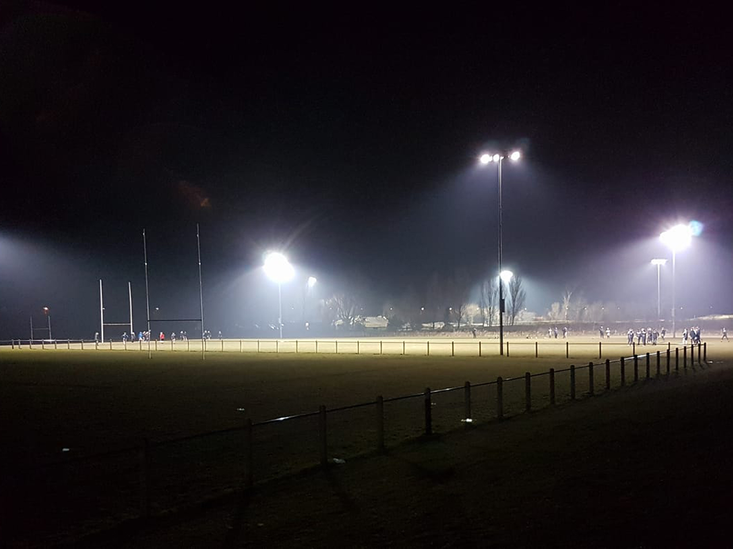 Chorley Panthers Floodlights