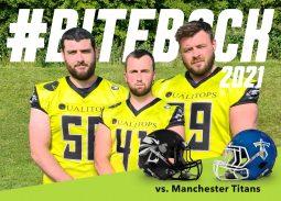 Wolverines v Titans